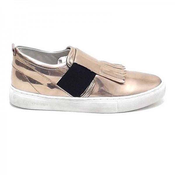 Crime London slip on 25173 bronzo metallizzato