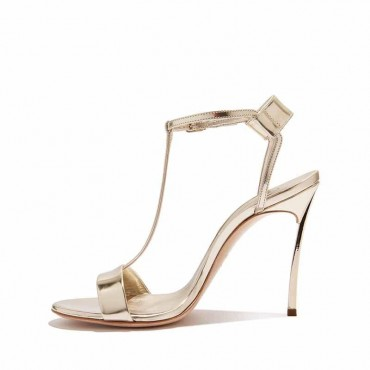 Casadei sandalo donna Techno Blade Selene in tessuto glitter