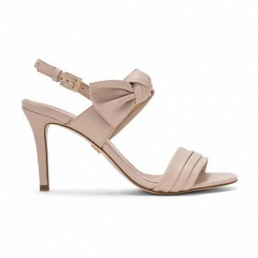 Carmens sandalo donna su tacco in pelle nude Tender