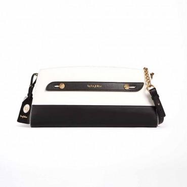 Byblos borsa donna pochette in eco pelle L.A. color block contrasto