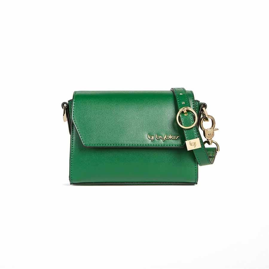dettagliare 572b1 adea3 Byblos borsa donna pochette tracolla eco pelle Helena borchie ...