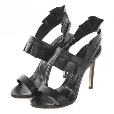 Marc Ellis MA344 Sandals black calf leather