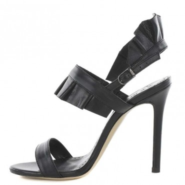 Marc Ellis MA344 Sandals black calf leather