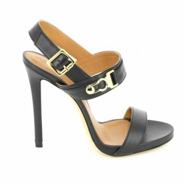Marc Ellis MA309 Sandals in black calf leather