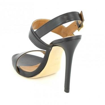 Marc Ellis MA309 Sandals in black calf leather