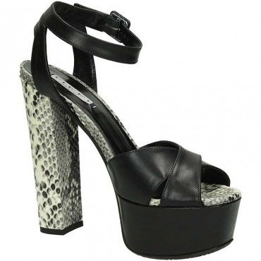 Tiffi p23 sandalo nero naturale