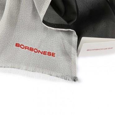 Borbonese stola donna 6DG005A77 K43 black stone