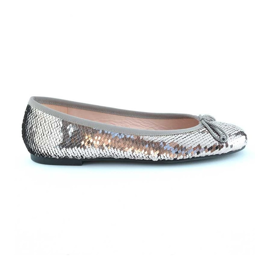 Running Eskimo 18 MOU Boots STME Stone Metallic Stivali donna grigiobeige metallico