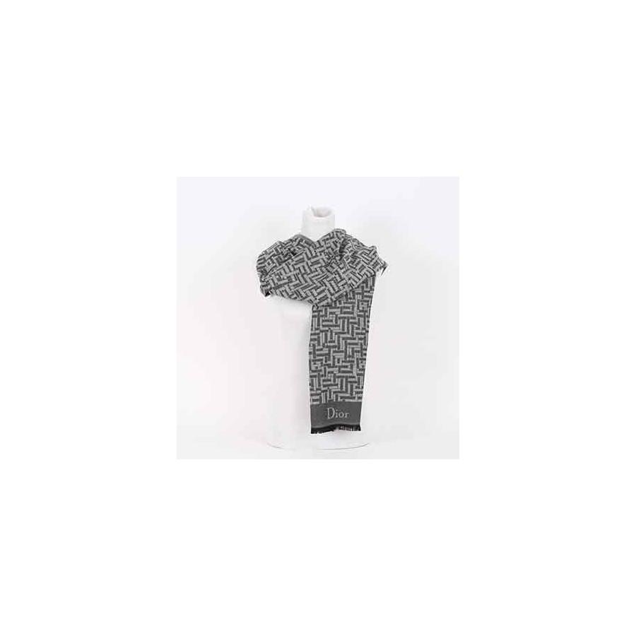 Sciarpa Dior logo Intarsio Sciarpe Uomo