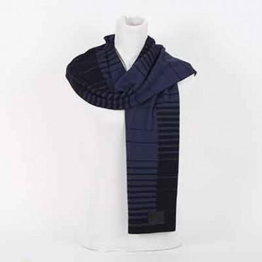 Sciarpa Dior  lana blu sciarpa uomo
