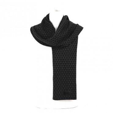 Sciarpa Dior lana grigio nero sciarpa uomo