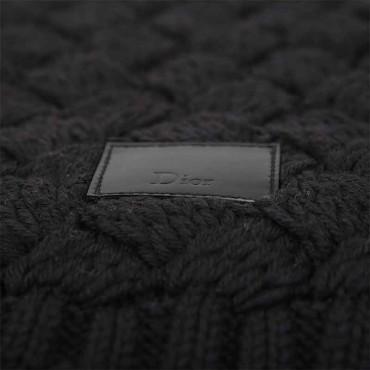 Sciarpa Dior lana nero sciarpa donna