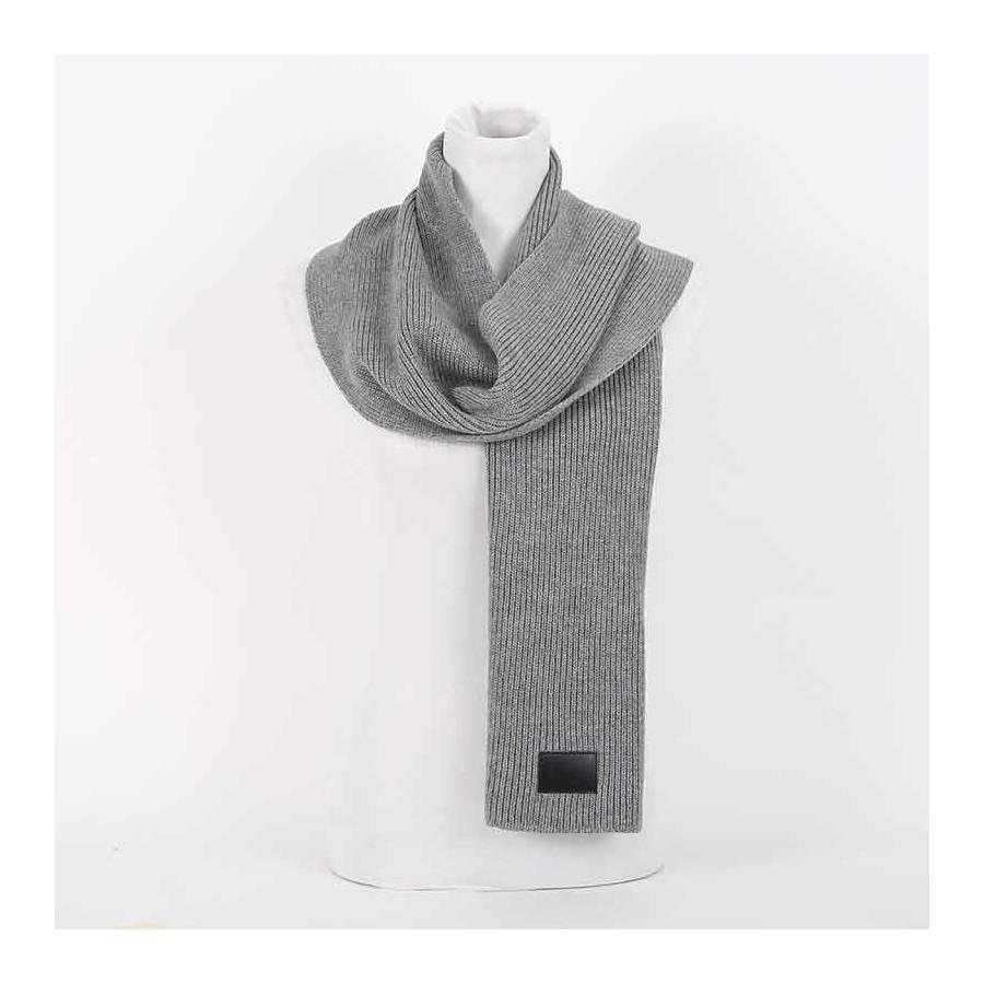 prezzo competitivo 0be61 ef4c7 Sciarpa Dior lana grigio sciarpa uomo Colore Grigio