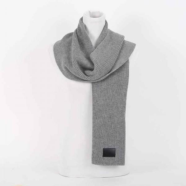 Sciarpa Dior lana grigio sciarpa uomo