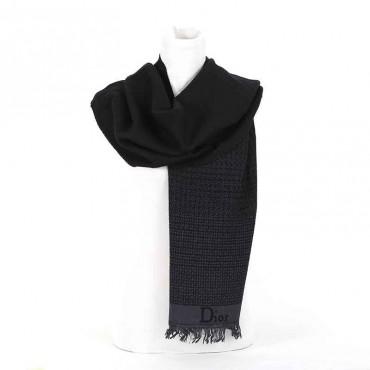 Sciarpa Dior lana t.moro nero sciarpa uomo