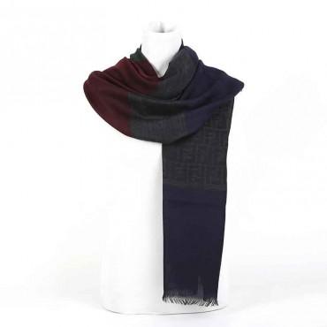 Stola Fendi lana jacquard color sciarpa donna