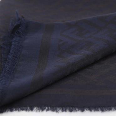Stola donna Fendi seta jacquard sciarpa donna