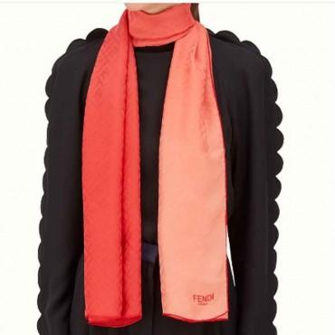 Stola donna Fendi seta degrade di colore sciarpa donna