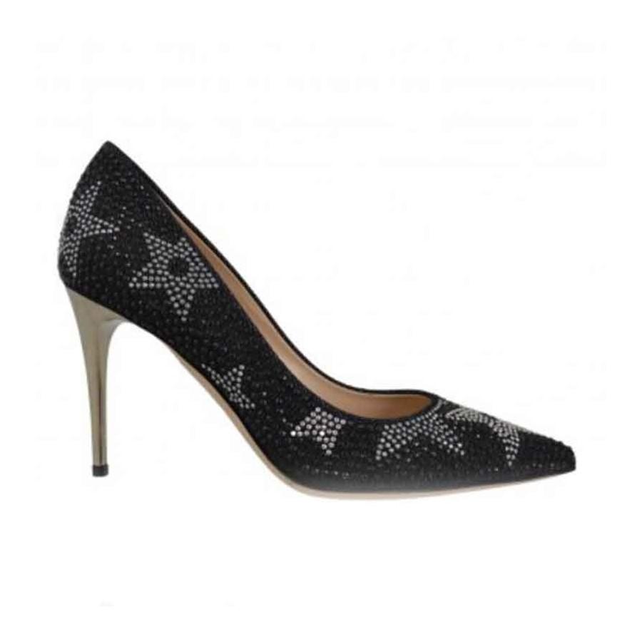 save off 9fdf3 4dd27 Women's Deimille black women's decollete fabric womens shoes DEIMILLE  Colori Black Taglie Scarpe Donna 36