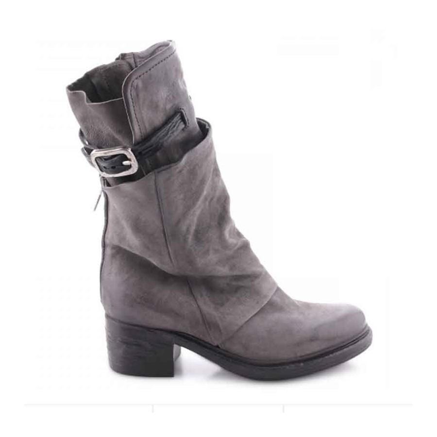 Stivale donna A.S.98 doppio fusto grigio scarpa scarpa scarpa donna 8bb648