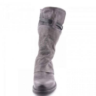 Stivale donna A.S.98  doppio fusto grigio scarpa donna