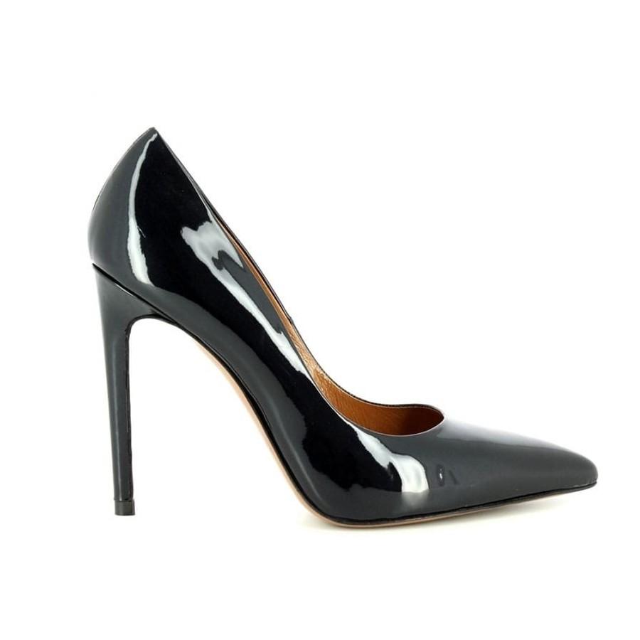 Tiffi scarpa donna decolte tacco 10 cm pelle vernice n70/100