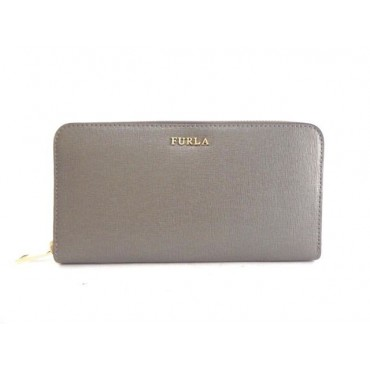 FURLA BABYLON zip around XL ARGILLA